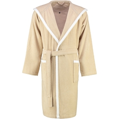 Элитный халат велюровый LC-Wing бежевый от Vossen