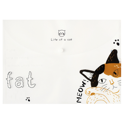 Папка A4 Life of a cat Fat