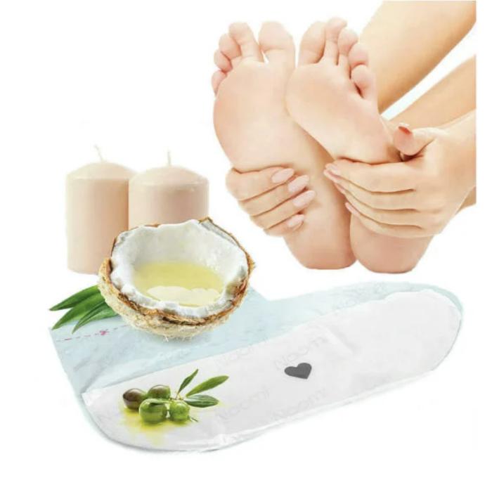 """Принадлежности для маникюра и педикюра Носки для ухода за кожей ног """"Парафинотерапия"""" af49c5e5b0e6433fb4a4ff2638886b48.png"""
