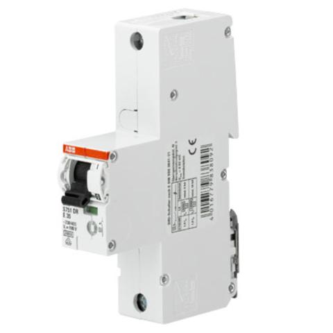 Автоматический выключатель 1-полюсный селективный 50 A, тип E, 25 кA S751DR-E50. ABB. 2CDH781010R0502