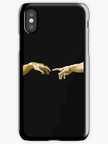 Telefon üzlüyü iPhone 8 - MICHELANGELO