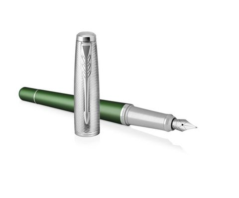 Перьевая ручка Parker Urban  Premium Green CT, F311, перо: F123