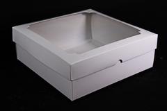 Набор (из 5шт) Коробка-трансформер Белая 19,5*19,5*7см