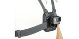 Крепление на грудь GoPro Chesty (AGCHM-001) пример использования вид сбоку