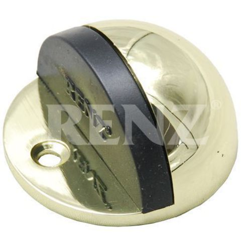 Фурнитура - Ограничитель Дверной напольный Renz DS 44 , цвет латунь блестящая