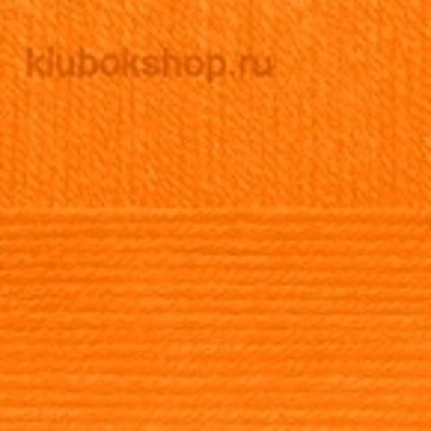 Пряжа Детская новинка (Пехорка) Оранжевый 284 (упаковка 10 шт.)