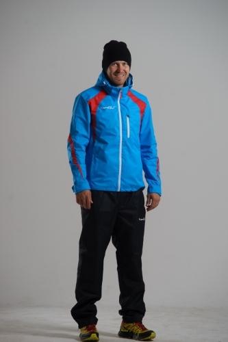 Мужской прогулочный утепленный лыжный костюм Nordski (NSV105770) синий
