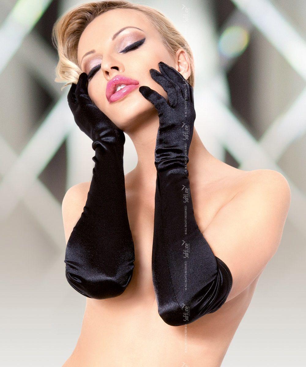 Перчатки и аксессуары: Длинные атласные перчатки