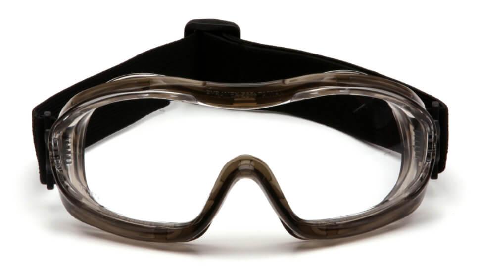 Очки баллистические тактические Pyramex G704T Anti-fog маска прозрачные 96%