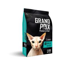 Сухой корм для кошек, GRAND PRIX Adult Sterilized, с кроликом