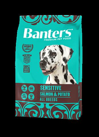 Banters Sensitive лосось с картофелем сухой корм для собак 3 кг