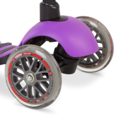 Самокат Yvolution Glider Deluxe фиолетовый