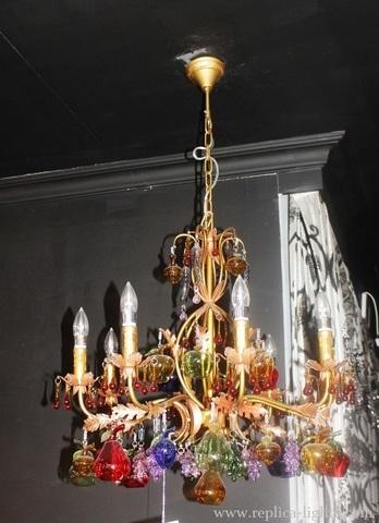 murano chandelier  ARTE DI MURANO 11-55 by Arlecchino Arts ( HK)