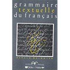 Grammaire textuelle du francais, Livre de l'eleve