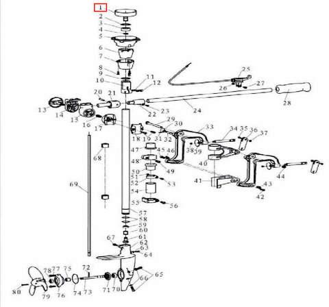 Барабан сцепления для лодочного мотора T3,5 Sea-PRO