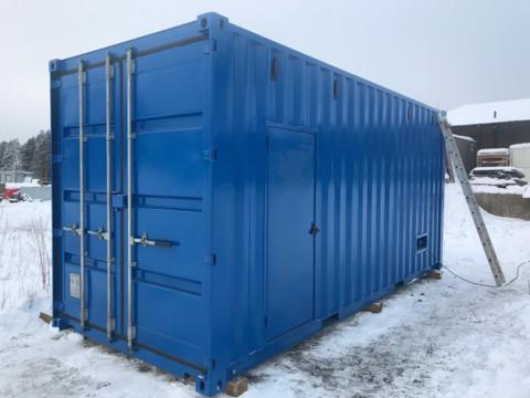 Цельносварной антивандальный контейнер для оборудования мощностью до 500 кВт, длина 6000