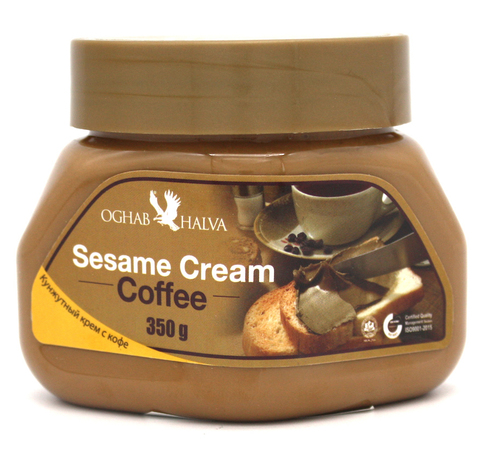 Кунжутный крем с кофе, Oghab Halva, 350 г