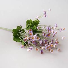 Летний букет 23 см, цвет фиолетовый, арт. 9129-3