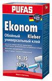 ПУФАС N0510 Клей для обоев универсальный ЭКОНОМ 500г  (10шт./кор)