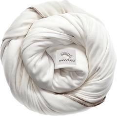 Трикотажный слинг-шарф manduca sling ecru (бежевый)