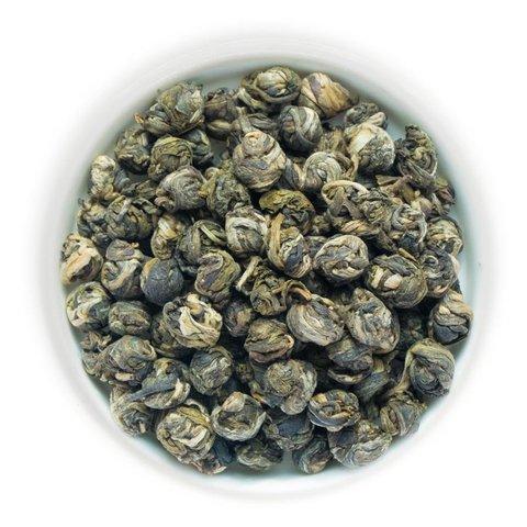 Китайский зеленый чай «Жасминовая жемчужина»