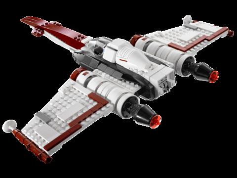 LEGO Star Wars: Истребитель Z-95 75004 — Z-95 Headhunter — Лего Стар варз Звёздные войны