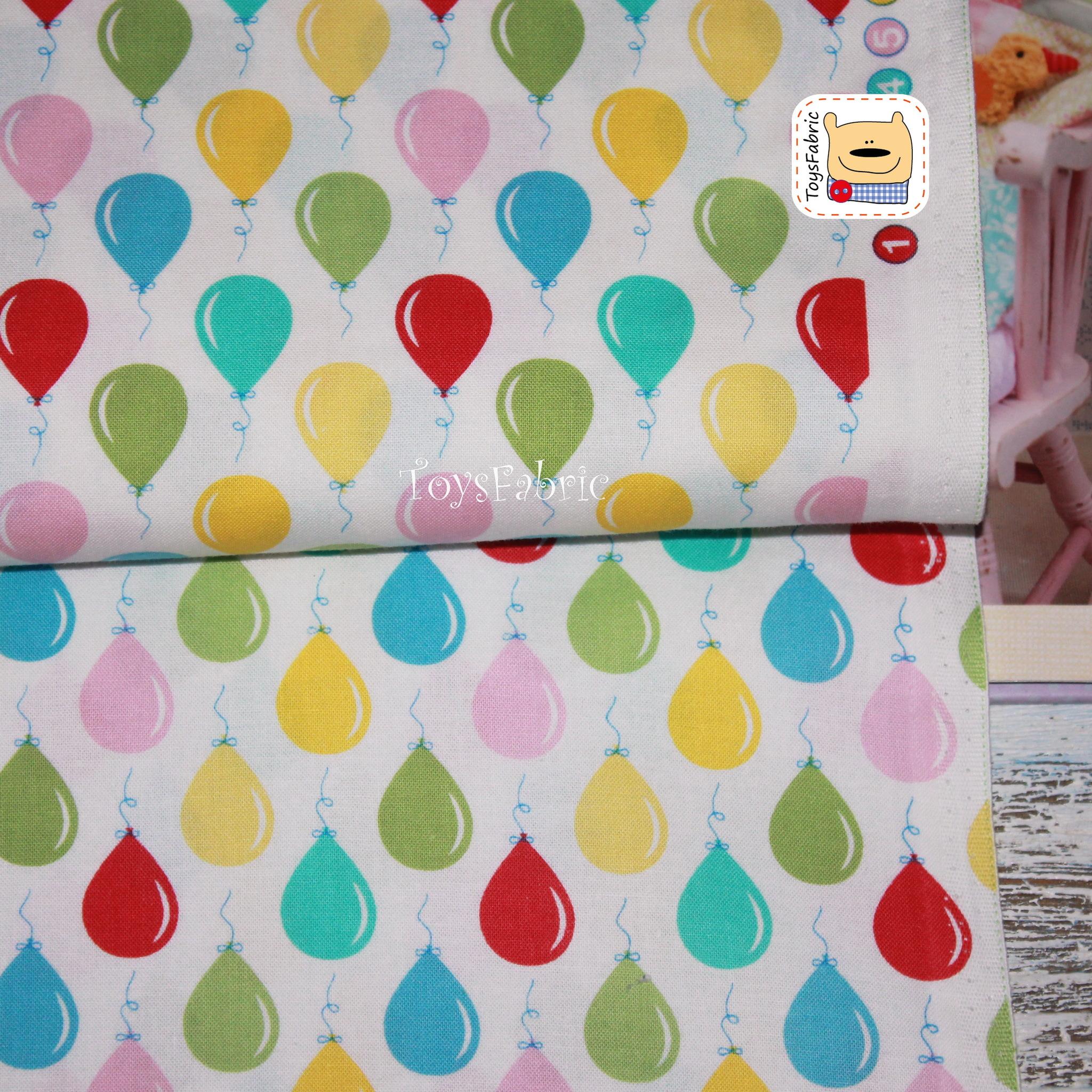 Ткань для пэчворка 20710 (воздушные шары) 45х55см