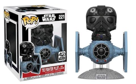 Фигурка Funko POP! Deluxe Vinyl:  Star Wars: Tie Fighter w/ Tie Pilot 20106