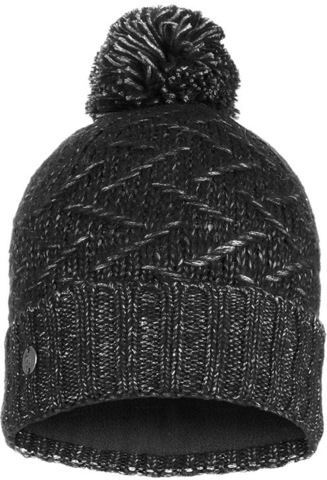 Шапка вязаная с флисом Buff Hat Knitted Polar Ebba Black