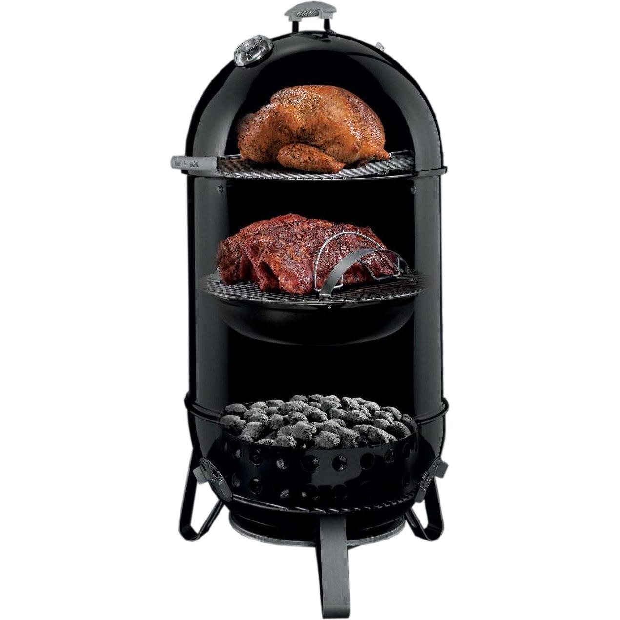 Коптильня угольная Weber Smokey Mountain Cooker 47cm Арт. 721004