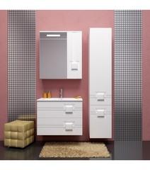 Мебель для ванной Opadiris Квадро 70  70х55х45см. цвет белый