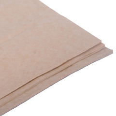 Бумага тишью, латте 76 Х 50 см, 10 листов 28 г/м
