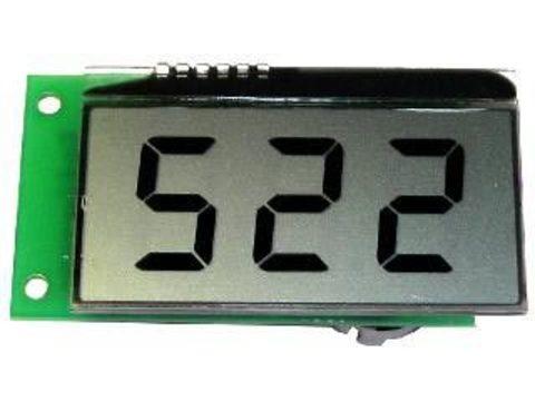 Цифровой мультидиапазонный амперметр EK-SAL0006 постоянного тока с LCD-дисплеем