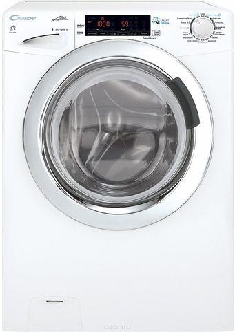 Узкая стиральная машина с сушкой Candy GrandO Vita Smart GVSW4364TWHC-07