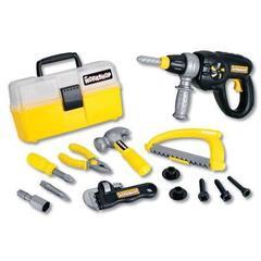 Keenway Набор инструментов (электрошуруповерт, ящик для инструментов, плоскогубцы, винты, отвертка, ножовка) (12761)