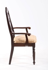 Кресло 5720 A (MK-1511-CP) Темный орех