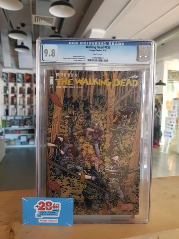 The Walking Dead #155 CGC 9.8