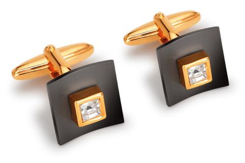 Подарочные запонки S.Quire 11-0043