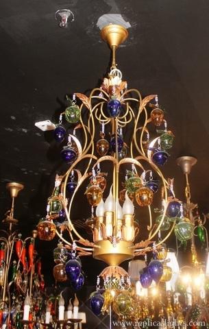 murano chandelier  ARTE DI MURANO 11-56 by Arlecchino Arts ( HK)