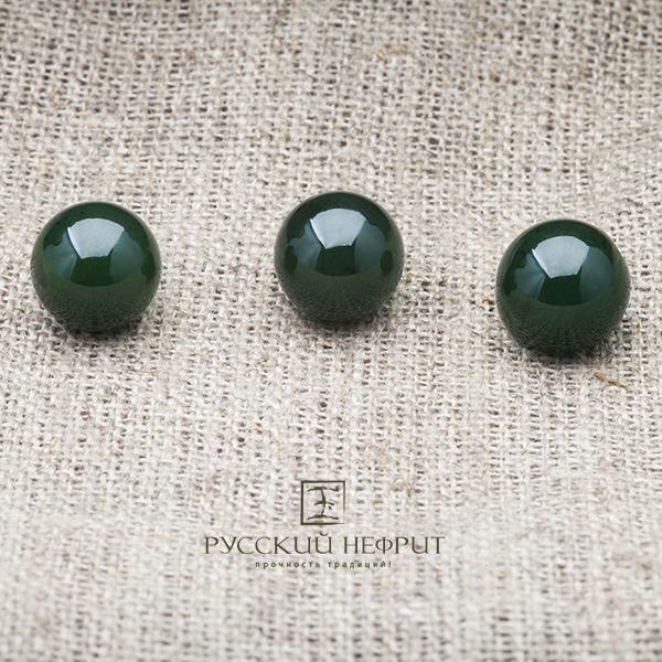 Бусины из натуральных камней  на сайте компании Русский нефрит.