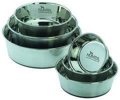 Миска из нержавеющей стали для собак Hunter Smart, 2,7 л диаметр 24 см