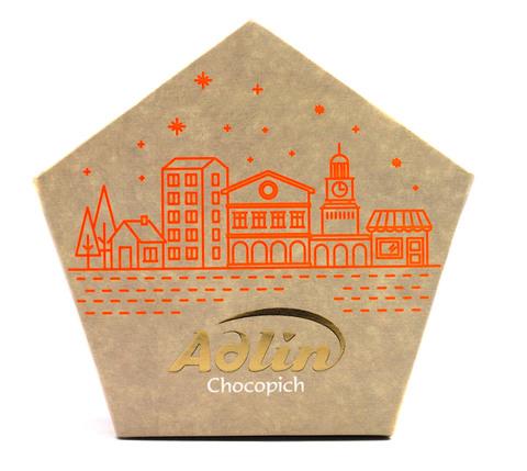 Пишмание со вкусом миндаля в шоколадной глазури, Adlin, 150 г