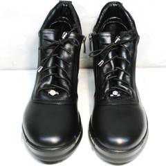 Ботинки женские Evromoda 375-1019 SA Black