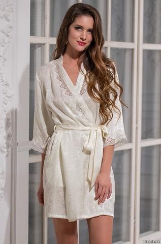 Короткий халат-кимоно Mia-Amore 3173 NIKA (нат.шелк)