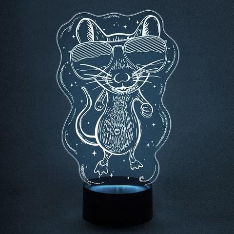 Мышонок в очках (мышь)