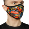Многоразовая защитная неопреновая маска Hardcore Training Doodles Color 2.0
