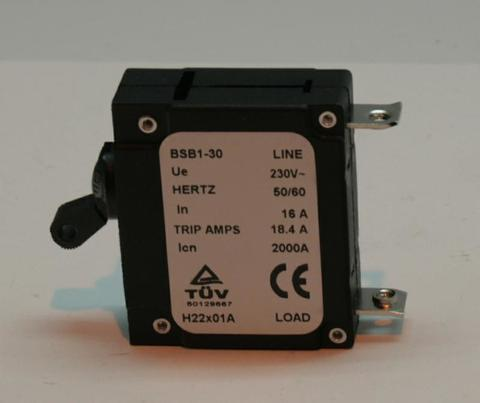 Компонент электронный автомат защиты DDE 1ф 16A DPG9551E/DPG10551E унив. (31037-00095-00)