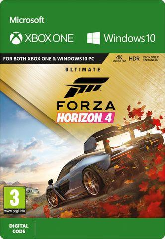 Xbox One Forza Horizon 4: Ultimate (цифровой ключ, русская версия)
