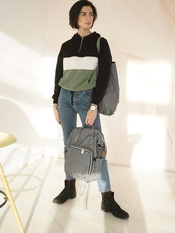 Рюкзак ChicMama Bags серый