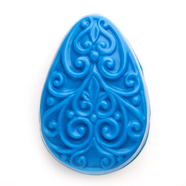 Форма для мыла Яйцо с орнаментом